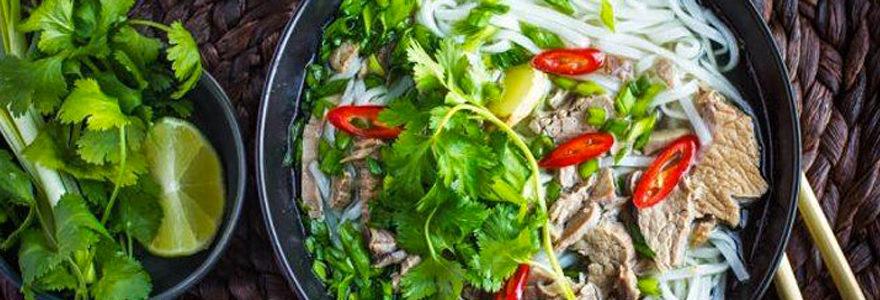 pho au bœuf vietnamien